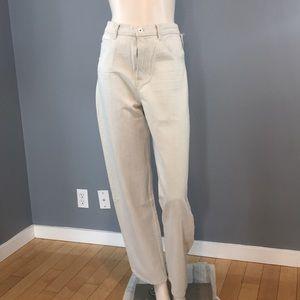 NWT Helmut Lang High Waist Wide Leg Jeans Size 29